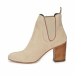 CRICKIT-Stiefelette-ANGELINA Suede Beige