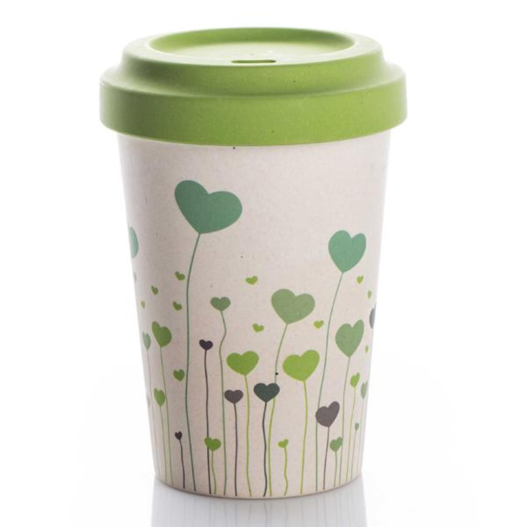 Bamboo Cup Field Of Love Coffee To Go Becher 400ml Tujuh Schone