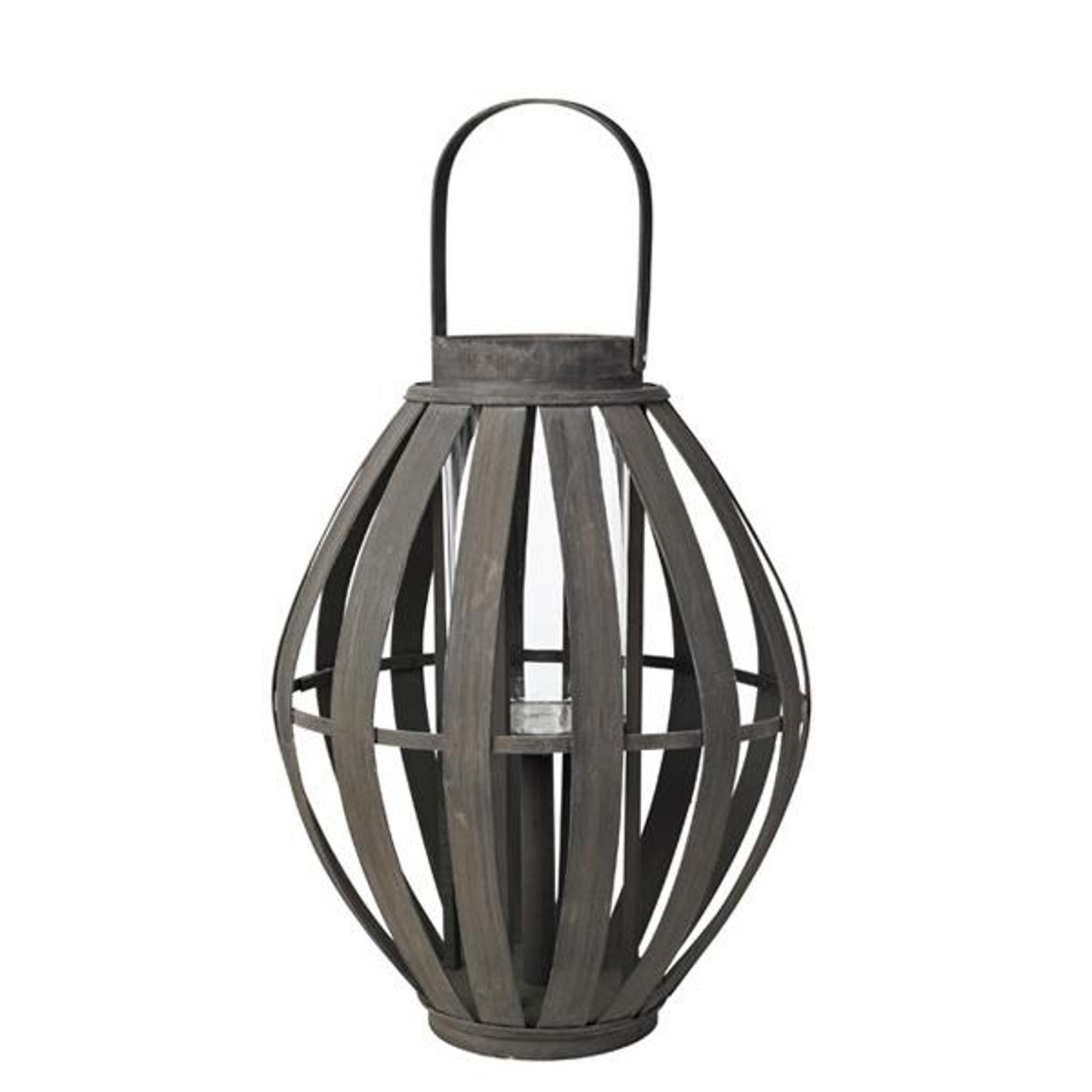 broste copenhagen holzlaterne arne in dunkelbraun windlicht mit glaseinsatz tujuh sch ne dinge. Black Bedroom Furniture Sets. Home Design Ideas