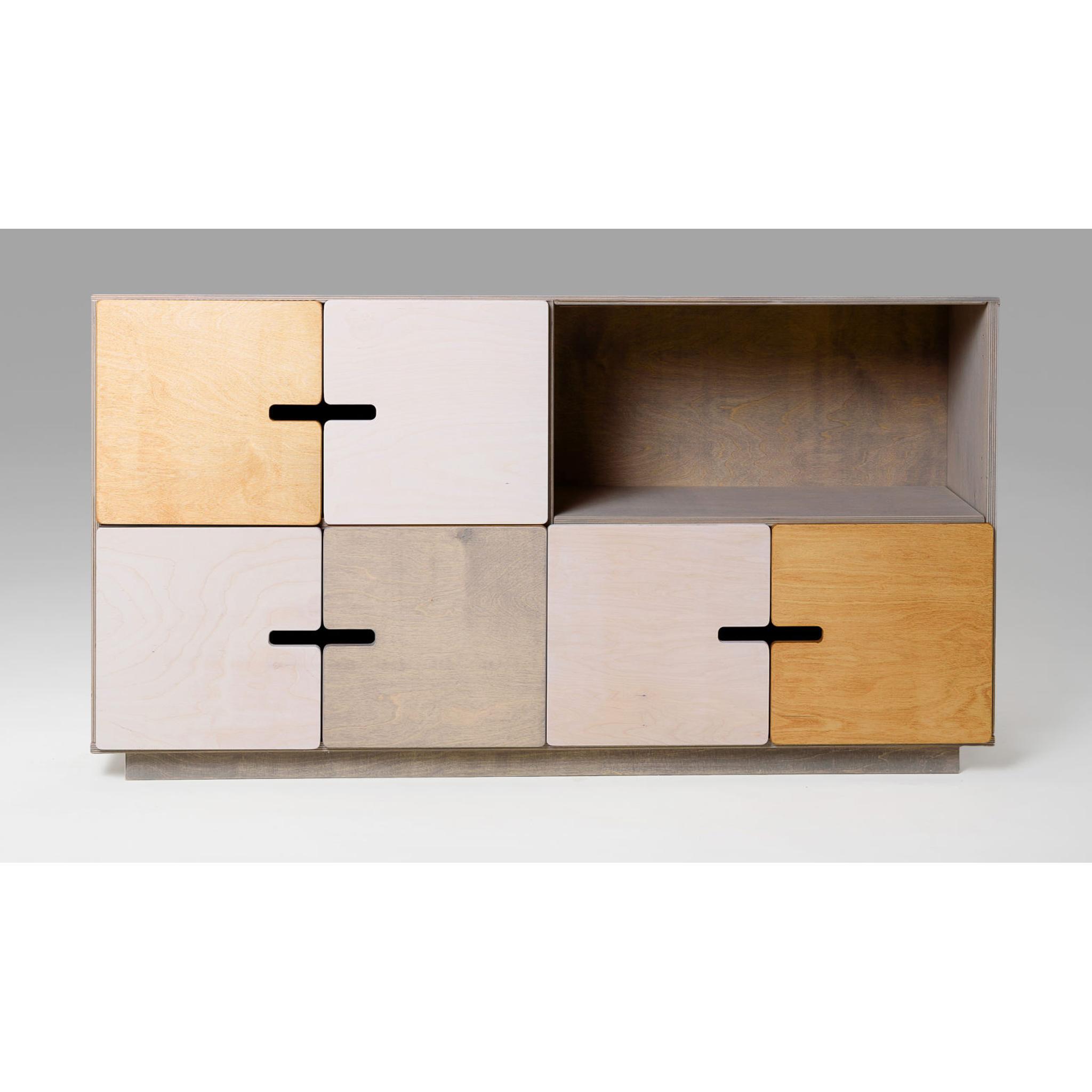 sideboard kommode f r arbeitszimmer wohnzimmer. Black Bedroom Furniture Sets. Home Design Ideas