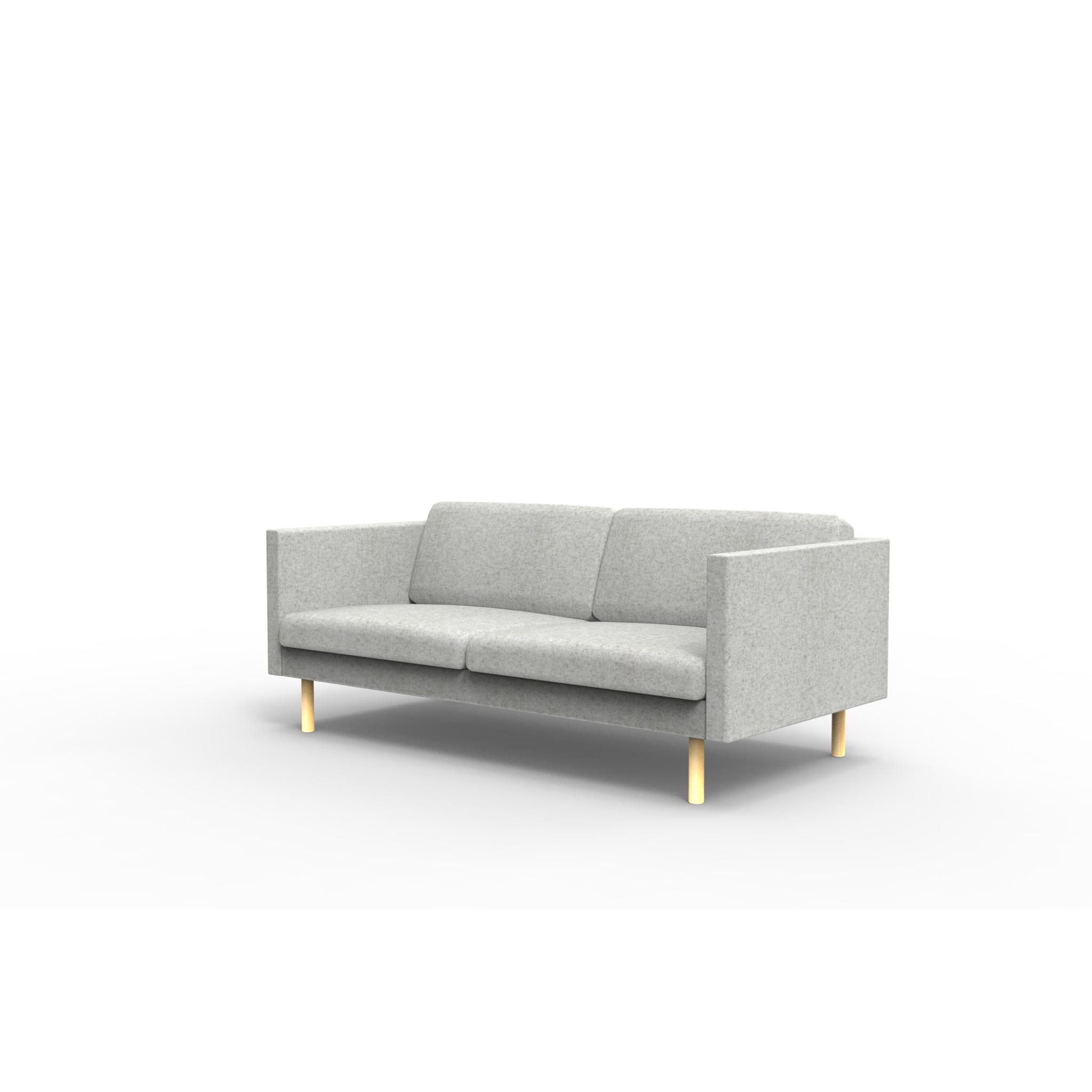 2er sofa leaf skandinavisch jetzt online kaufen. Black Bedroom Furniture Sets. Home Design Ideas