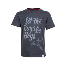 Let The Boys Be Boys T-Shirt (dark grey)