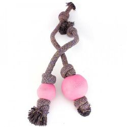 Beco Ball Rope Rosa 1