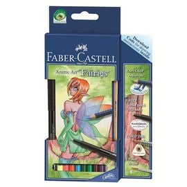 Manga Art Farbstifte FAIRIES von Faber Castell | Set mit Download Code | Artikelnummer: FC114482
