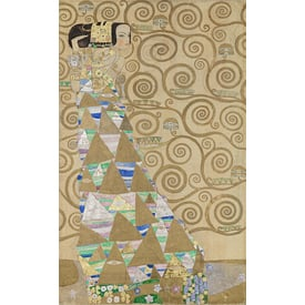 GUSTAV KLIMT Expectation | Stoclet Frieze | Artikelnummer: POD-MAL-226-2-A4E