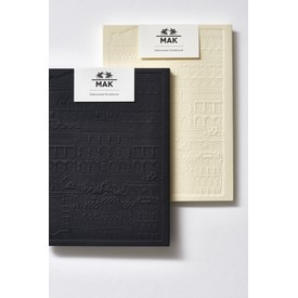 Debossed Notebook | The City Works x MAK Notizbuch | Artikelnummer: 8753-2581-8775-w