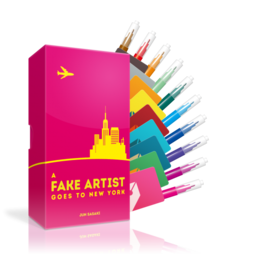 A Fake Artist Goes to New York | Oink Games | Artikelnummer: 4571394090329