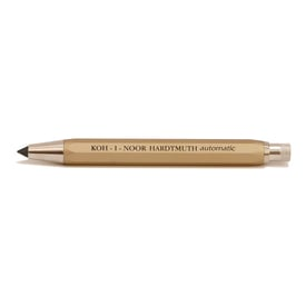 Koh-I-Noor Druckbleistift automatic / Mechanical pencil automatic | 5,6mm Mine / 5,6mm lead | Artikelnummer: Koh_Druck_gold
