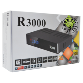 Royal Receiver R3000-HD IPTV&Sat Box +12 Months Abonnement | New 2018 | Artikelnummer: RRB3000