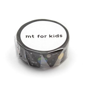 mt for Kids Planet Masking Tape  | Planeten / Planets | Artikelnummer: MT01KID22Z