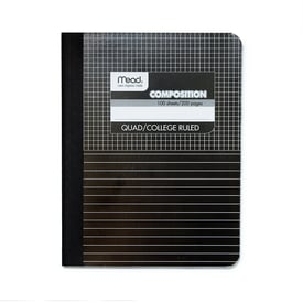 Mead Composition Book – Karos + Linien | Mead Composition Book – Grid + Line | Artikelnummer: 9000