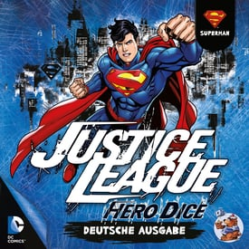 Justice League: Hero Dice • Superman-Set |  | Artikelnummer: 4015566100336