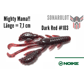 NOIKE - Mighty Mama!! (7,1cm) | Dark Red #103 | Artikelnummer: 100200