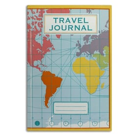 Reisetagebuch von sukie / Travel journal | Landkarte / Map | Artikelnummer: sukie_maptravel