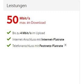 Red Internet & Phone 50 Cable |  | Artikelnummer: 6001