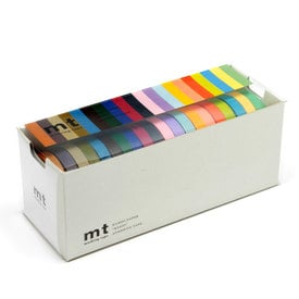 mt Masking Tape 20 Colors Set  | 20 dünne Rollen Masking Tape / 20 slim masking tapes | Artikelnummer: MT20P002Z