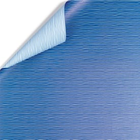 Blaue Wellen doppelseitiges Geschenkpapier /Blue Waves two-sided Wrapping Paper | Buntpapier 48 x 67cm / Patterned Paper | Artikelnummer: mpc-papier-wasser
