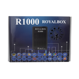 Royal Receiver R1000-HD IPTV&Sat Box +12 Months Abonnement | New 2019 | Artikelnummer: RRB1000