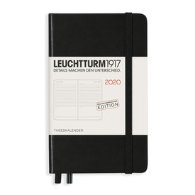 2020 Leuchtturm 1917 Tageskalender Pocket / Daily Diary | Deutsche Edition / German Edition | Artikelnummer: 360028_Pocket