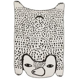 Bear Shaped Cotton Throw | 100% Baumwolle, 198 x 133 cm | Artikelnummer: DW.BearCT