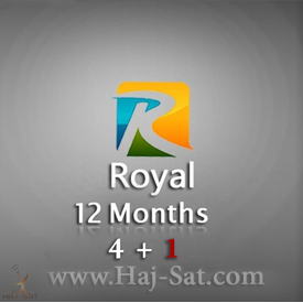 Royal IPTV Subscription 12 Months x 4+1 Free  |  | Artikelnummer: RA5X12M