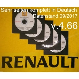 Renault/Dacia Dialogys Reparaturanleitungen, Teilekatalog, Preise usw. VOLLVERSION Application Programm v. 7.5.6, Programm v. 4.66 , Stand 11/2017 komplett in Deutsch!!! | Alle Windows Systeme | Artikelnummer: 000001050