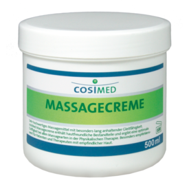 COSIMED Massagecreme | 500 ml | Artikelnummer: 1.0113.05
