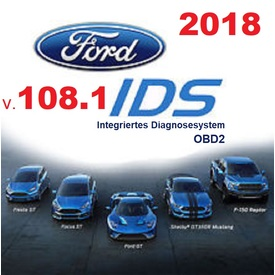 Ford IDS 108.01 + Kalibrierung C 81 Diagnosesoftware NEU 2018 | Alle Windows-Systeme ab Windows 7  nur 64bit  | Artikelnummer: 000001077