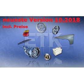 BMW ETK/EPC 10.2018 neuester Ersatzteilkatalog v. 3.1.80 inkl. globale Preisdatei | EPC Information: CD Version 10.2018, ETK/EPC Version 3.1.80, Datenbasis Version : ETK 2.36 Daten vom: 21.09.2018 BMW ETK 10.2018 als iso - 5.99 Gb, Mehrsprachig | Artikelnummer: 000001100