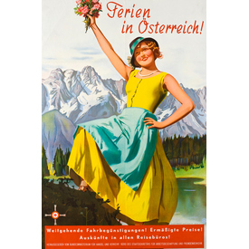 Ferien in Österreich | Advertising Poster 1933 | Artikelnummer: PODE-PI-3063