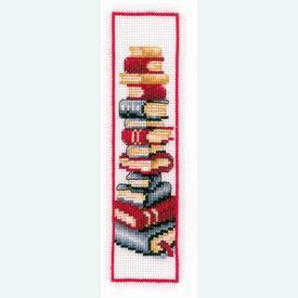 Bladwijzer Books - borduurpakket met telpatroon Vervaco |  | Artikelnummer: vvc-2002-17522