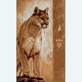 Panther - kruissteekpakket met telpatroon Luca-S |  | Artikelnummer: luca-b2219