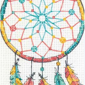Dreamcatcher - borduurpakket met telpatroon Dimensions |  | Artikelnummer: dim-70-65158