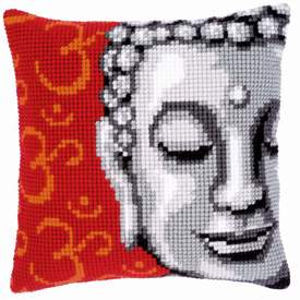Buddha - Vervaco Kruissteekkussen |  | Artikelnummer: vvc-143700