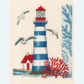 Lighthouse - Vervaco kruissteekpakket met telpatroon |  | Artikelnummer: vvc-173175