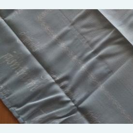 Theenap bloemen - blauw | zonder draad - zonder patroon | Artikelnummer: nra-16487