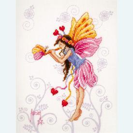 Musical Fairy - handwerkpakket met telpatroon Vervaco |  | Artikelnummer: vvc-70205