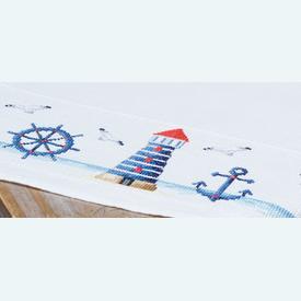 Maritime Design theenap - borduurpakket met telpatroon Vervaco |  | Artikelnummer: vvc-147141