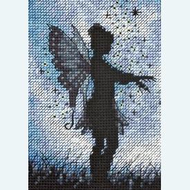 Twilight Silhouette - borduurpakket met telpatroon Dimensions |  | Artikelnummer: dim-70-35296