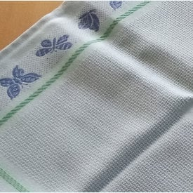 Theenap vlinder - blauw | zonder draad - zonder patroon | Artikelnummer: nra-14113
