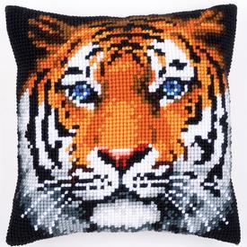 Tiger - Vervaco Kruissteekkussen |  | Artikelnummer: vvc-162358