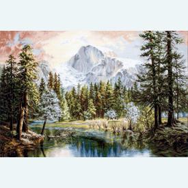 Nature's Wonderland - borduurpakket met telpatroon Luca-S |  | Artikelnummer: luca-b604