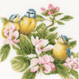 Family Quality Time by Marjolein Bastin - borduurpakket met telpatroon Lanarte |  | Artikelnummer: ln-173176