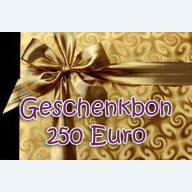 Geschenkbon 250 Euro  |  | Artikelnummer: nra-24510-250
