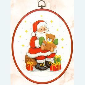 Christmas Presents - kruissteekpakket met telpatroon Vervaco  |  | Artikelnummer: vvc-74871