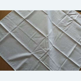 Theenap bloemen - wit | zonder draad - zonder patroon | Artikelnummer: nra-16488