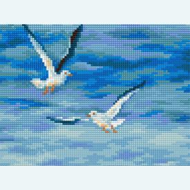 Precious Moment - kruissteekpakket met telpatroon Luca-S |  | Artikelnummer: luca-b531