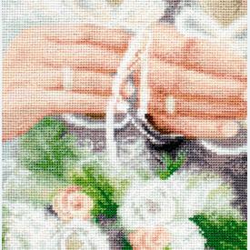 Only Together - borduurpakket met telpatroon Luca-S |  | Artikelnummer: luca-b2334