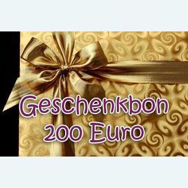 Geschenkbon 200 Euro |  | Artikelnummer: nra-24510-200
