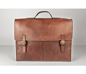 Satchel No 1-3 (L)  | Reddish-Brown | Artikelnummer: HR-SA-1-3_rb2